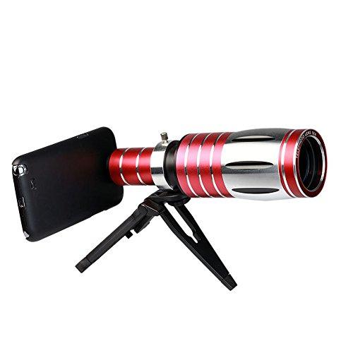 Alta calidad Genuine Samsung Teléfonos Móviles Apple Teléfono Móvil Universal monocular Prismáticos fotografía larga grabación universal X20