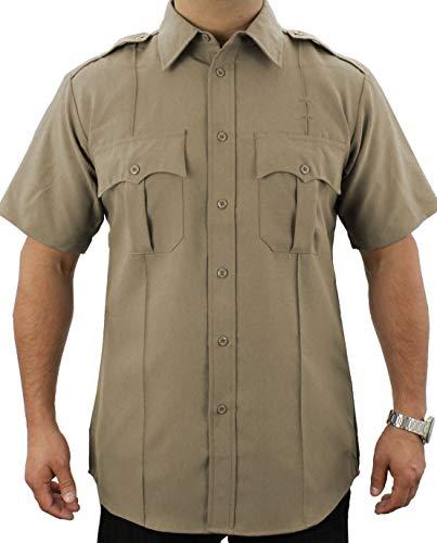 First Class Short-Sleeve Uniform Shirt 2XL Tan
