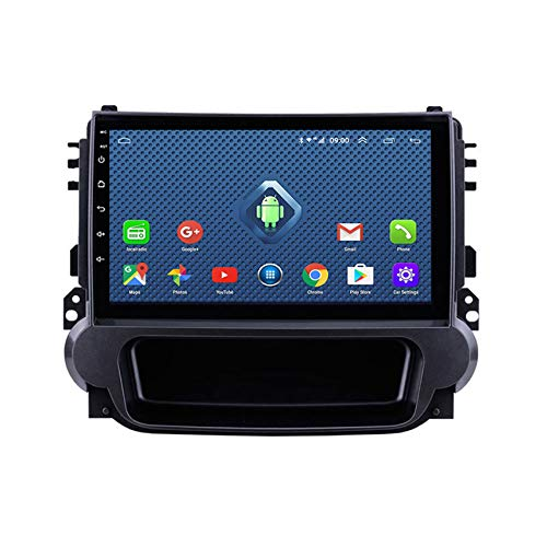 DMMASH Android 8 Car Stereo Navegación GPS Auto Radio para Chevrolet Malibu 2012-2015 2 DIN Pantalla Táctil de 9 Pulgadas WiFi/BT, Soporte Llamadas Manos Libres,8 Cores,4G+WiFi:2 +32G