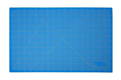 Victor Tapis de découpe 3 plis et auto-cicatrisant bleu 60x90cm A1