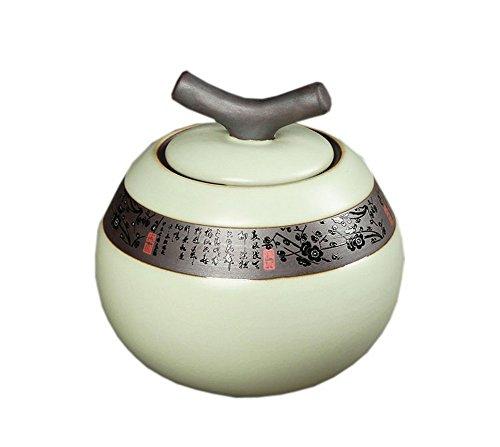 Ru Brennofen Teal Keramik Tee-Speicher Kanister