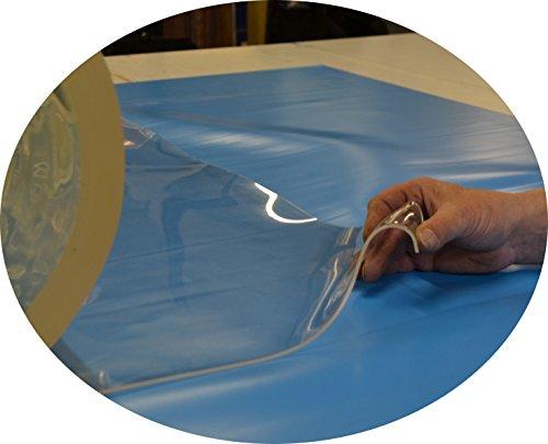 Jehaplast Weich PVC transparent 3,0 mm ca. 99 cm x 160 cm