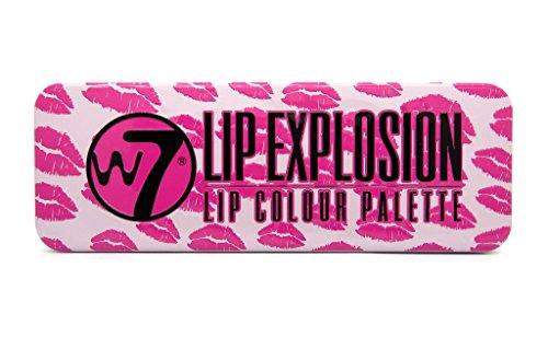 W7labios explosión paleta de 12 colores de labios, 8g