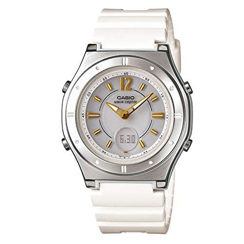 [カシオ] 腕時計 ウェーブセプター 電波ソーラー LWA-M142-7AJF ホワイト