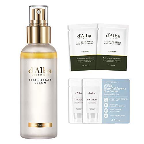 d'Alba WHITE TRUFFLE VITAMIN C MIST SPRAY SERUM-Rich white ruffle antioxidant boost skin Collagen, Plump skin,Even skin tone/Dermatologist Tested&Cruelty Free&Clean Beauty(3.38 fl.oz.)
