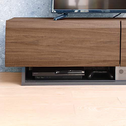白井産業大型テレビ台32から50インチ対応ログーノLOG-3512GHBRダークブラウン幅120cm