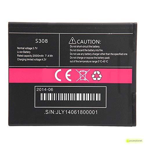 Bateria Compatible con CUBOT S308 | Capacidad 2000mAh