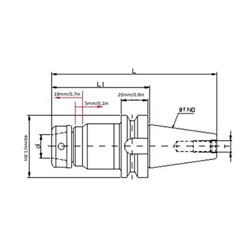 Zwinner Soporte, Soporte de fresadora Herramientas manuales para fresadora para Centro de mecanizado CNC para sujeción de machos de roscar