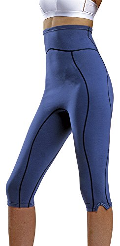 Vulkan Open Cells Body Corsario Termoactivo Reductor, Mujer, Azul, XXL