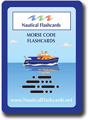 Tarjetas náuticas código Morse