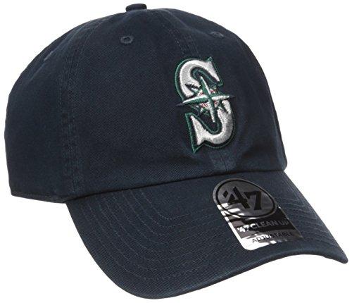 47 Brand(47ブランド) MLB シアトル・マリナーズ Cleanup Adjustable キャップ (ゲーム) - Free [スポーツ用品]
