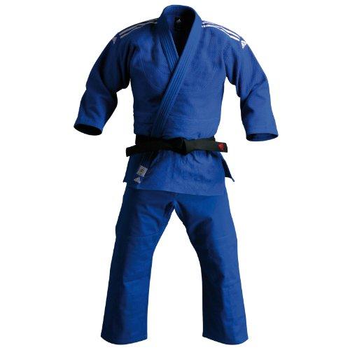adidas Champion IJF–Traje de Judo, Color Azul