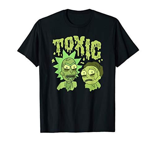 Rick and Morty Toxic Rick And Morty T-shirt