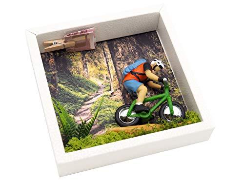 ZauberDeko Geldgeschenk Verpackung Mountainbike Fahrrad Tour Mann Gutschein Sport Ausrüstung - 3