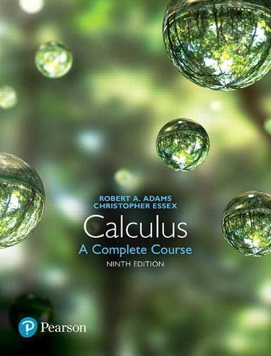 Calculus: A Complete Course