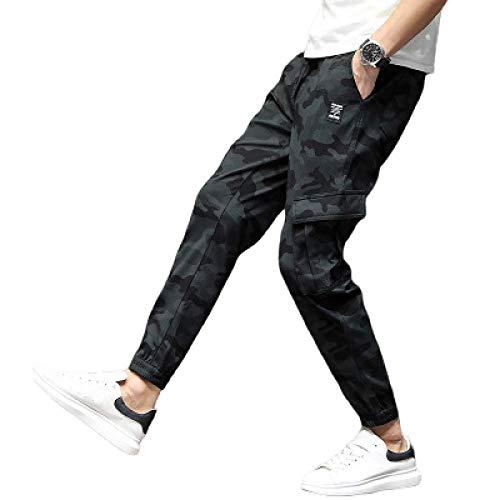 nobranded Herren Camo Jogger Hosen Jogginghose Skinny Trainingsanzug Unterteile Sport Training Slim Fit Sportswear Unterteile