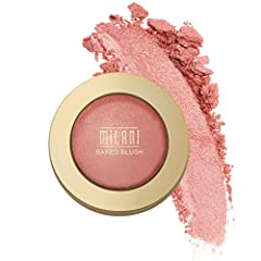 RADIANT BAKED BLUSH: Richly pigmented and highly buildable, the beautiful matte and shimmery shades of Baked Blush are the perfect cheeky pop of color for every skin tone. Shape, contour and highlight your best facial features. AVAILABLE IN 12 SHADES...