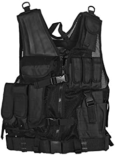 Fox Outdoor 65-2275 Big & Tall Mach 1 Tactical Vest Black