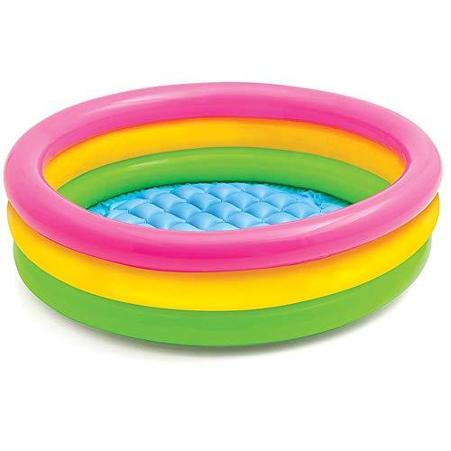Inflables Piscinas para niños Piscina for niños Piscina Inflable del bebé Hogar Juguete de la Piscina Infantil Océano Ball Pool Piscina de Olas de Naranja Family Fun Salón Piscina