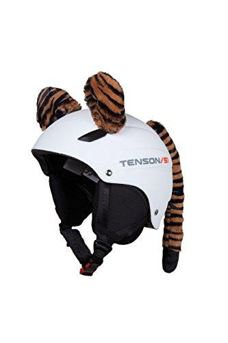 Helm-Accessoire mit Tigerohren zum Anbringen an Ski- und Motorradhelmen für Erwachsene und Kinder