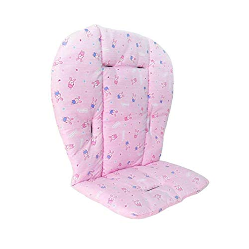 Baby Seat Cushion Liner Mat Pad Cover for Stroller Car High Chair Breathable Waterproof Liner Mat Pad Protector Pink
