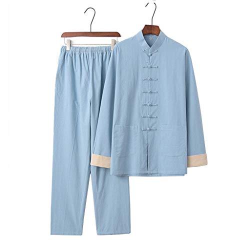 JXS Tai-Chi-Uniform-Kleidung - Baumwolle...