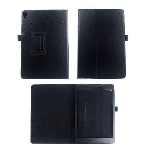 jbTec® Tablet-Hülle/Tasche passend für Google Nexus 9 / LTE - EINFARBIG - Case Schutzhülle Cover, Farbe:Schwarz