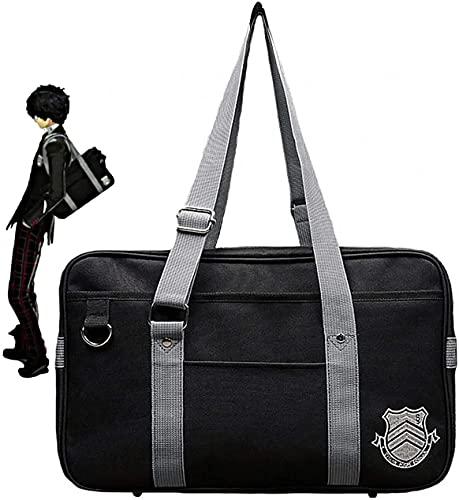 Game Persona 5 P5 Joker High School JK Bag Uniform Ren Amamiya Shoulder Bags(NEW style add Non-slip nail)