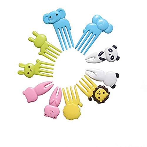 Tenedores Pequeños Plastico Marca Flushzing