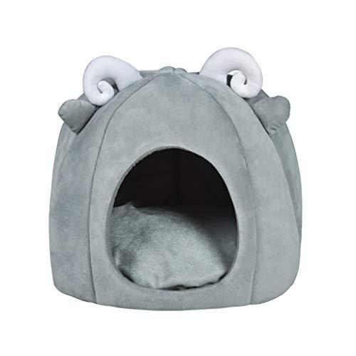 DreamedU Perro Gato Cama para Mascotas Casa Nido Cueva Camas para Perros Pequeños Medianos Cachorros de Gato 201110