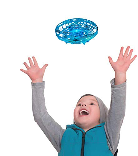 TekHome UFO Mini Drone, Juguetes Niños 3 4 5 6 Años, Regalos Cumpleaños para Infantil Niñas 7 8 9 10 Años, Regalos Originales Baratos Navidad, Sensor Infrarrojo, Operado a Mano.