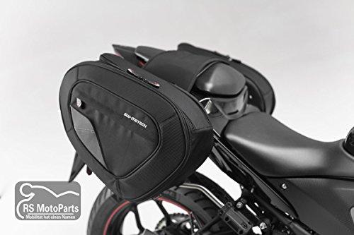 SW-MOTECH Blaze H Set de Sacs de Selle Noir/Gris pour Yamaha YZF-R3 (15-)