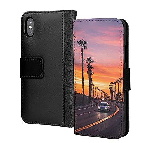 Road to Sunset California Usa America - Funda de piel sintética para Samsung Galaxy S10