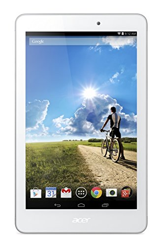 Acer Iconia Tab 8 Full HD A1-840FHD 8-inch Tablet (White) - (Intel Atom Z3745 Up to 1.86Ghz, 2 GB RAM, 16GB Memory, WLAN, Bluetooth, Android 4.4)