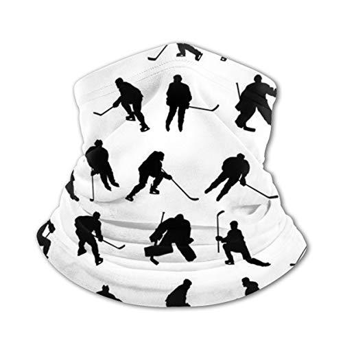 Ice Hockey Sport Headwear For Girls And Boys, Head Wrap, Neck Gaiter, Headband, Tenn Fishing Mask, Magic Scarf, Tube Mask, Face Bandana Mask For Camping Running Cycling