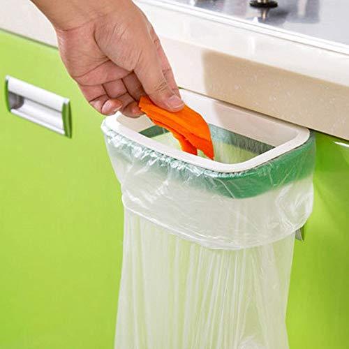Gift geven Garbage tas houder kan worden gebruikt om keuken kast deur terug type plastic vuilnisbak hangen, grootte: 22 * 10.2cm Thuis