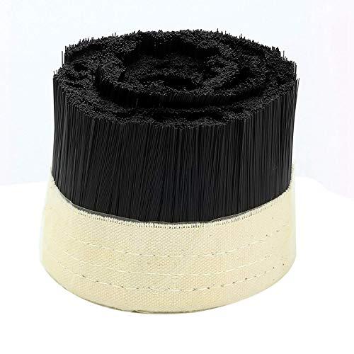 HEYB Máquina de grabado de colector de polvo para aspiradora de cepillo para motor de husillo de enrutador CNC (100 mm)
