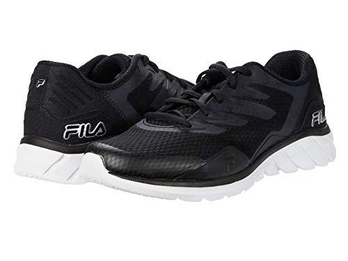 Fila Zapatos Memory Countdown 9 para mujer, negro (Negro/Plateado/Blanco), 39.5 EU