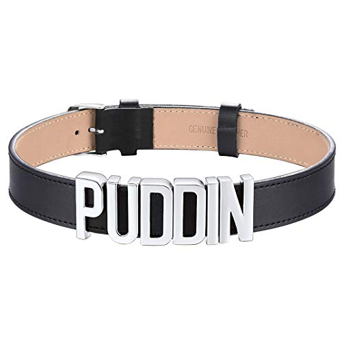GOLDCHIC JEWELRY Harley Quinn Puddin Choker for Women, Suicide Squad Collar Halloween Cosplay Necklaces Punk Jewellery