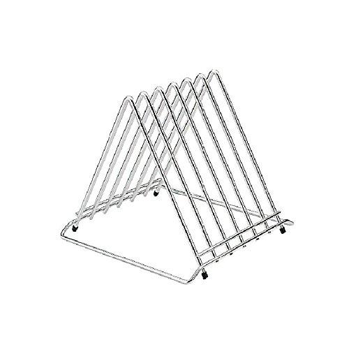 Hygiplas - Soporte para tablas cortar en acero inoxidable con ranuras