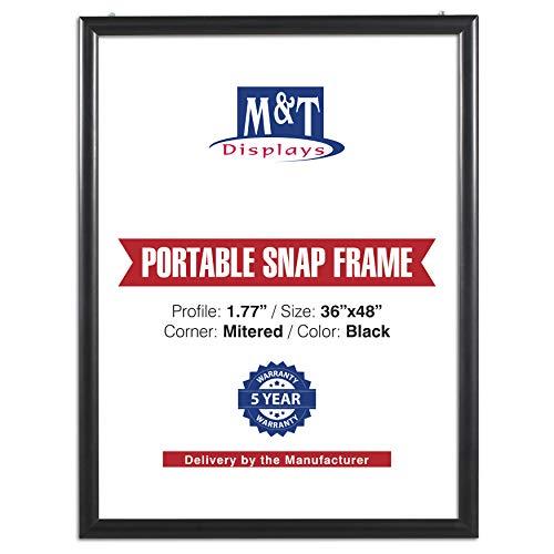 M&T Displays Portable Snap Poste...