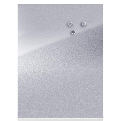 Zeller 11120 Magnettafel, Edelstahl / 40 x 60