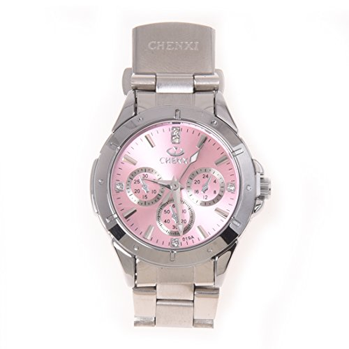 SODIAL(R) 027498 - Reloj para Mujeres