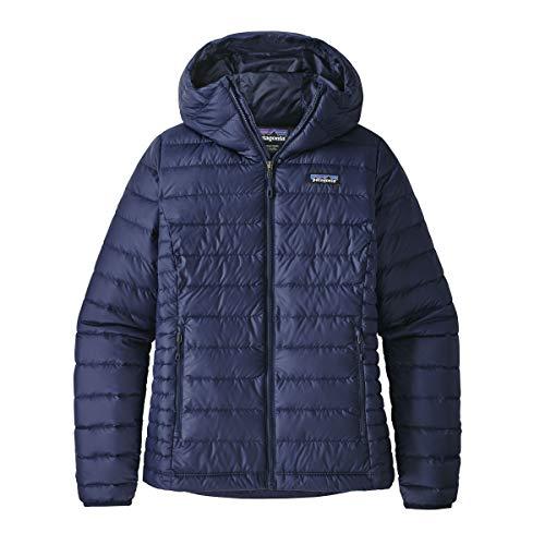 Patagonia W's Down Sweater Hoody Jacke für Herren, A-Linie Mantel, 84711, Blau, 84711 Large