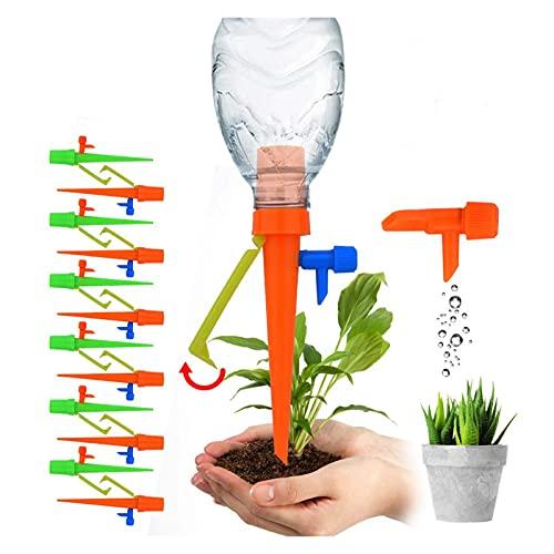 Dispositivo di irrigazione automatico Giardino Automatico Gripper Grip Iristigy System Bottle Dispositivo di innaffiatura Spike per piante da esterno indoor Semplice ed efficiente ( Color : 10pcs )