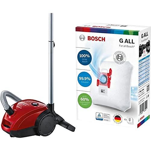 Bosch GL-20 BGL2UA200 - Aspirador con Bolsa Compacto + Bosch BBZ41FGALL Bolsas para Aspirador Bosch