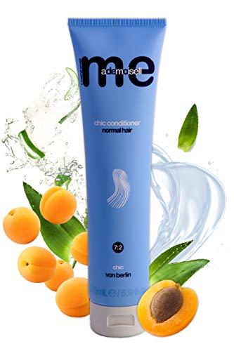 MeMademoiselle Chic Conditioner I Revitalisant à l'Aloe Vera avec huile de noyau d'abricot kératinique et panthénol I Revitalisant 10 secondes I Made in Germany (175 ml)