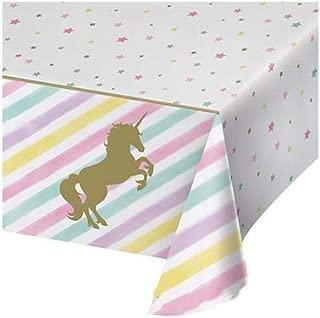 Unicornio del partido del favor de Mantel rectangular Mantel ...