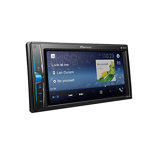 "Pioneer MVH A219BT 6.2"" wvga Touchscreen car AV Receiver with Bluetooth and Mirrorlink (Black)"
