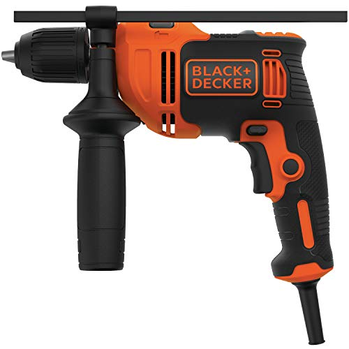 Black+Decker BEHD201 - Taladro de martillo (6,5 A, 1/2')